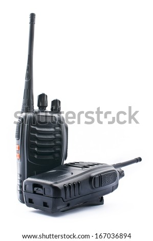 Wireless Radio Communication - stock photo