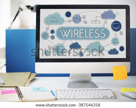 Wireless Wifi Connection Networking Technology Concept