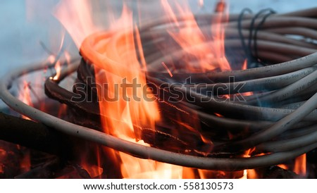 Fire Wire Stock Images Royalty Free Images Amp Vectors