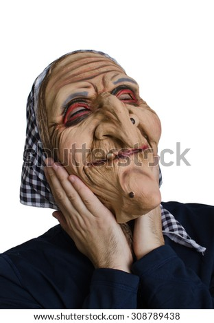 Witch disguise - stock photo