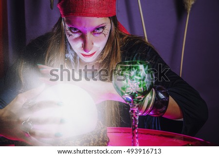 Think, Sorceress casting spell think, that
