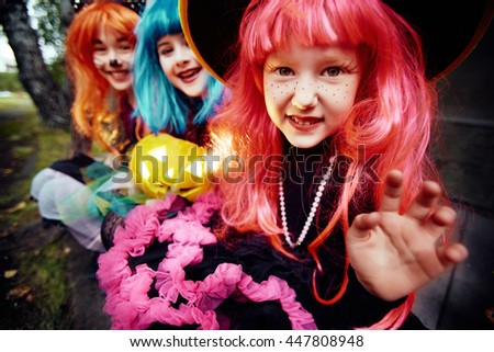 Witches - stock photo