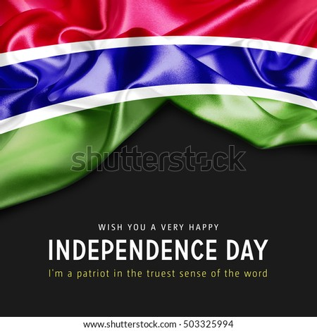 With you a Very Happy Gambia Independence Day. I'm a Patriot in the truest sense of the word