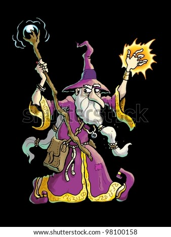 Wizard - stock photo