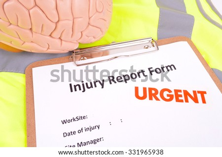 Wok Place Injury Report Form