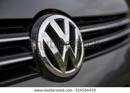 Wolfsburg, Germany - September 28, 2015 - Volkswagen VW cheating in tests for pollution and emissions of its diesel motor in the us