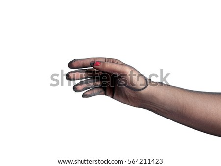 Reserved Nylon Woman Glove