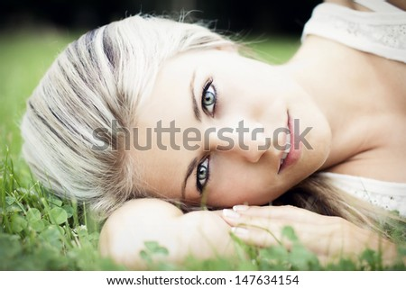 Woman beauty - stock photo