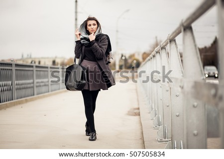 woman fashion autumn