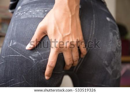 butt closeups images Lesbian