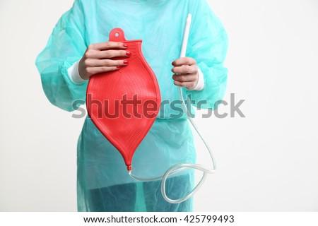 girls who like holding enemas