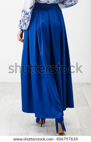 Long Skirt Stock Images, Royalty-Free Images & Vectors | Shutterstock