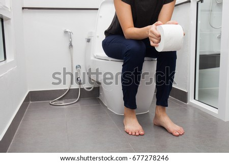 how to sit on the toilet when constipated