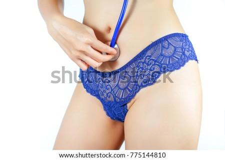 Wife hand panties pussy keep closed