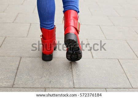 Red Outfit Red Shoes Stock Images, Royalty-Free Images & Vectors ...