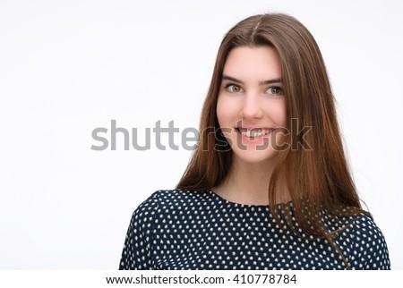 Woman in dress - stock photo
