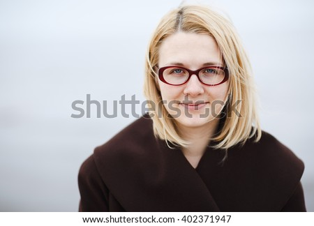 Woman in glases