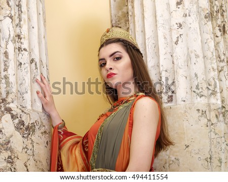 Ancient Roman Women Clothing Stock Images, Royalty-Free ...