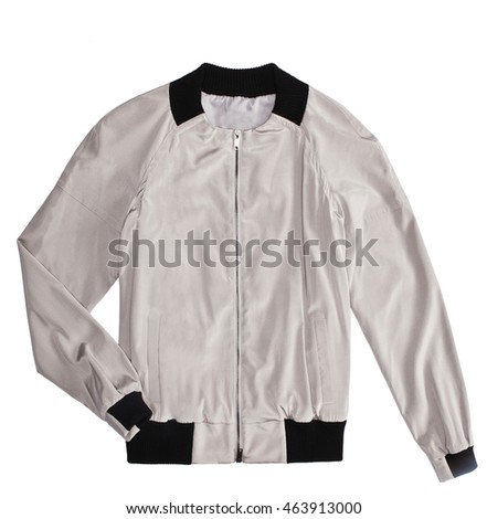 woman jacket isolated