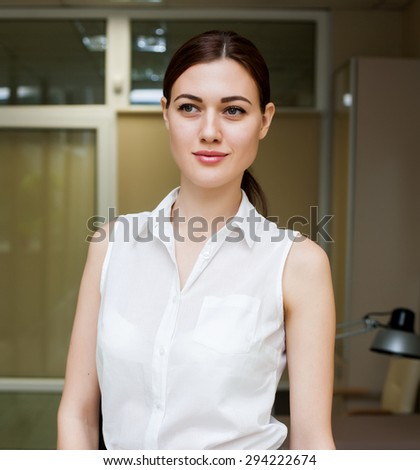 woman office business