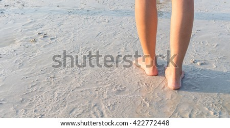 Woman on a Beach