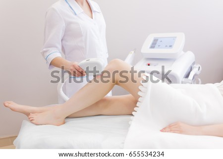 laser epilation cosmetology cosmetic beauty spa stock photo 519909325 shutterstock. Black Bedroom Furniture Sets. Home Design Ideas