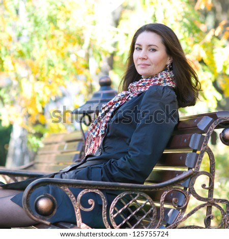 woman outdoor portrait