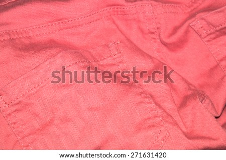 Woman Pink Jeans Back Pockets background