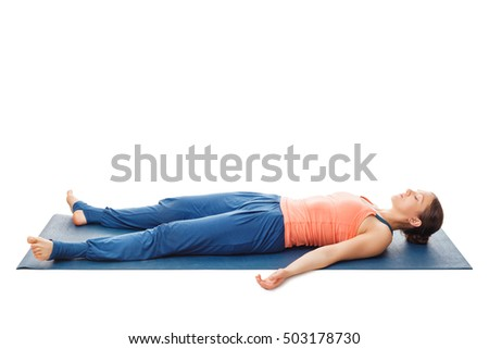 corpse pose yoga stock images royaltyfree images