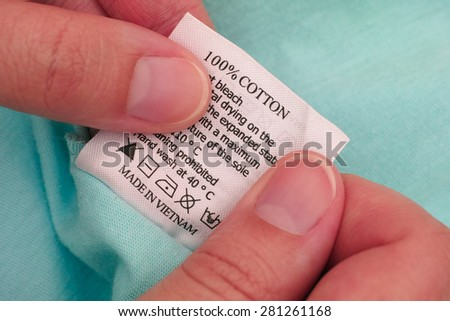 Laundry Care Label Stock Images Royalty Free Images