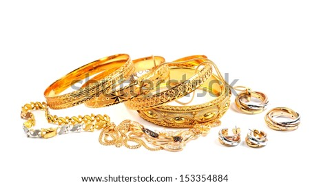 Woman's jewelry - stock photo