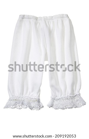 Woman's Long White Undergarment