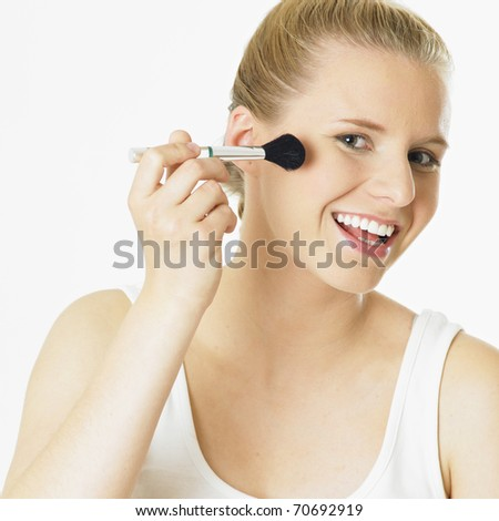 woman's make up