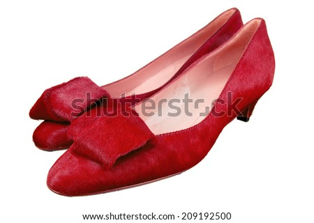 Woman's Red Dress Shoes