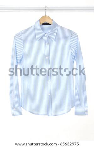 Woman shirt isolated - stock photo