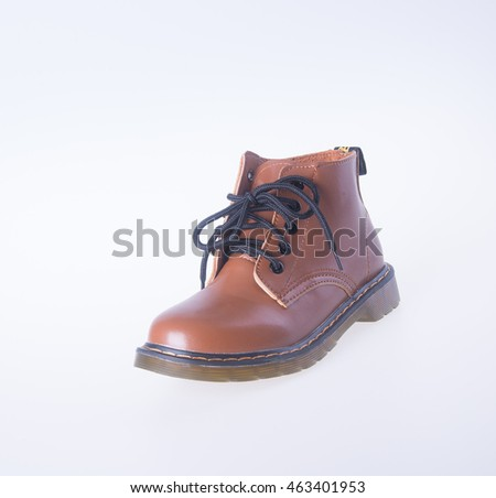 woman shoe on a background