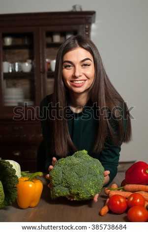 Woman takes 