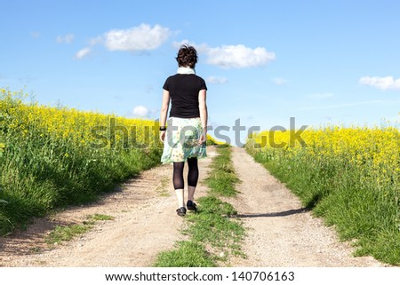 Woman Walking Away Stock Images, Royalty-Free Images ...