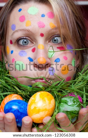 Women With Easter Eggs In Her Ass 17