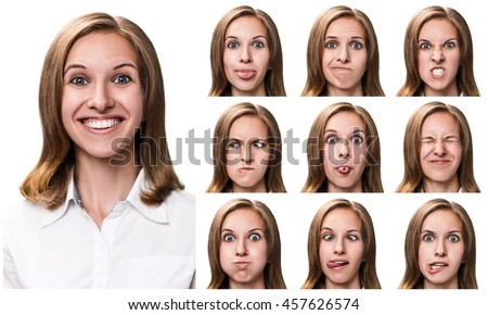 Have appeared gender difference in facial expressions