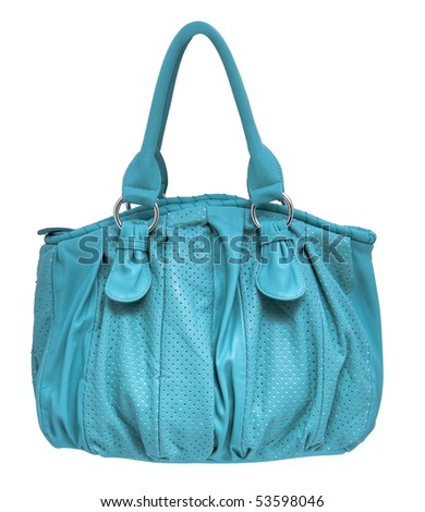 Women bag isolated on white background - stock photo