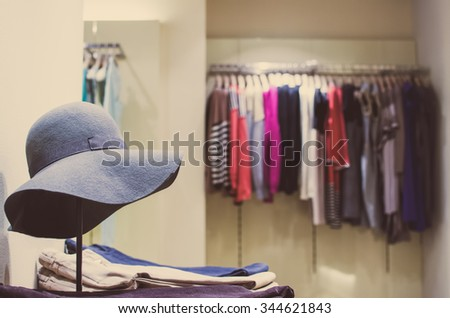Women clothing store