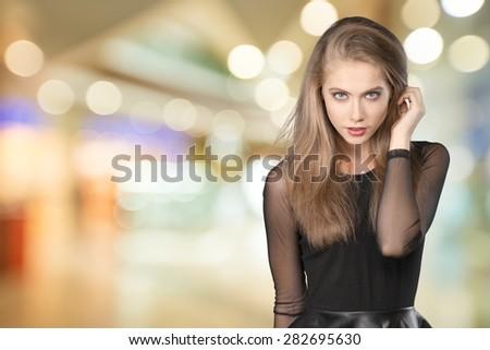 Women, Fashion, Pin-Up Girl. - stock photo