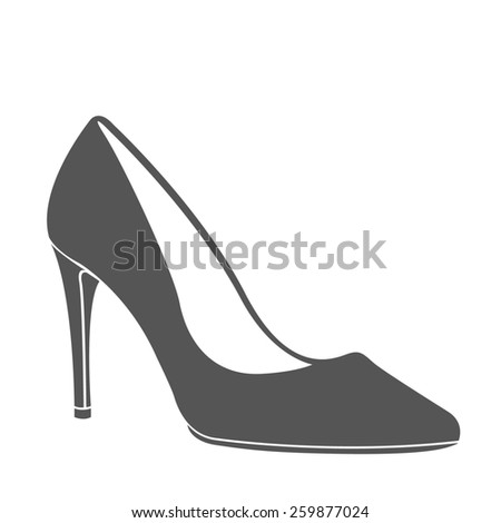 Stock images similar to id 145627735 fashion woman for High heel shoe design template