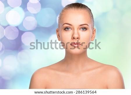 Women, Human Face, Beauty. - stock photo