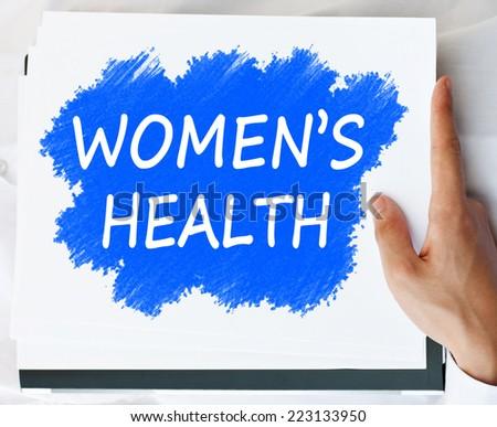 Women's Health concept - stock photo