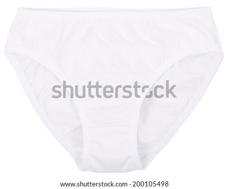 Women's panties isolated on a white background.