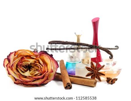 Women's perfume - stock photo