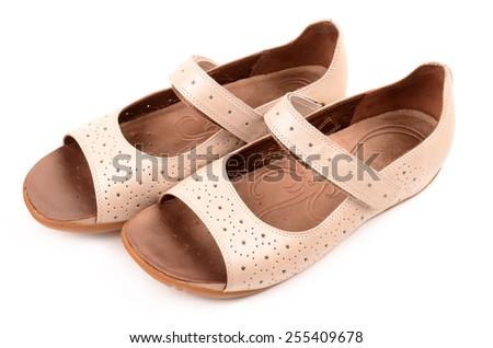 women's sandals - stock photo