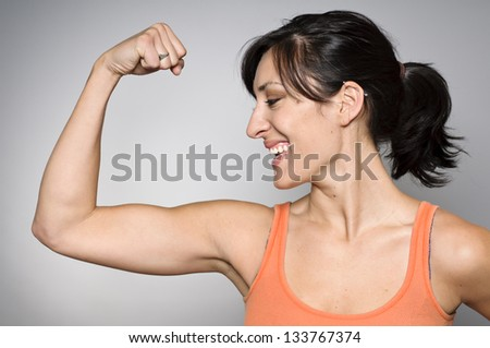 Women's Strength And Fitness - stock photo